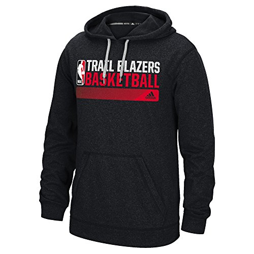 fan products of NBA Portland Trail Blazers Icon Status Climawarm Ultimate Hoodie, X-Large, Black