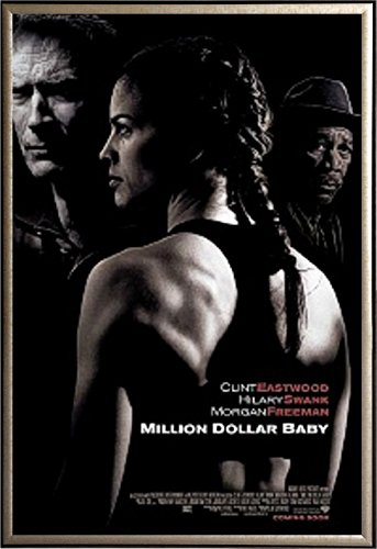 Framed Million Dollar Baby - Style A 27x40 Movie Poster in G