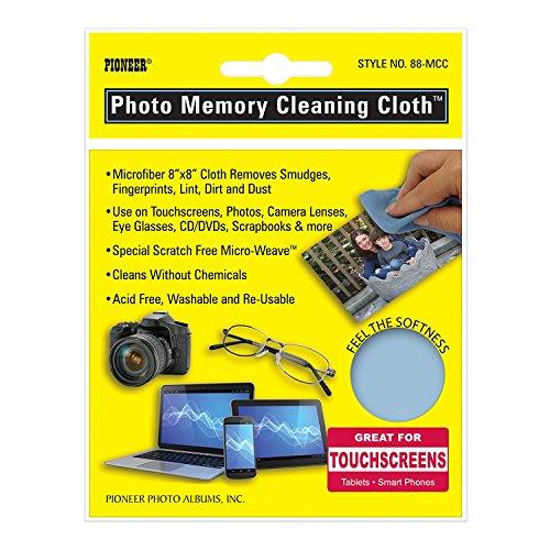 Pioneer Photo Albums Pioneer Microfiber Photo Memory Cleaning Cloth