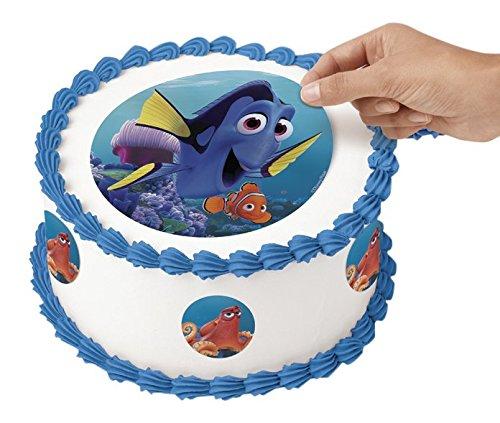Wilton 710-4702 Disney Pixar Finding Dory Peel & Place Sugar Sheets, Multicolor -