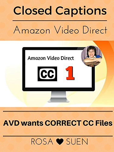 (Amazon Video Direct Requires Closed Caption Files for our Videos)