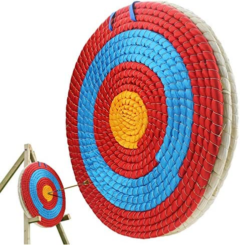 Archery Target Arrow Sports Target Healing Bow Hunting Practice Straw Weav