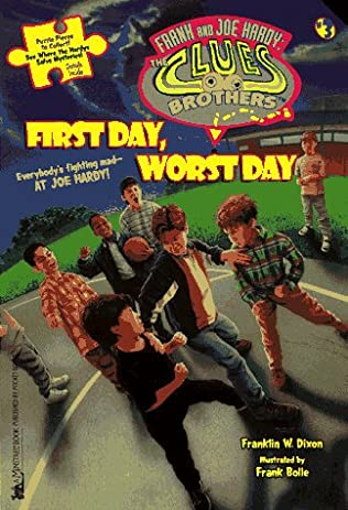 book cover of First Day Worst Day