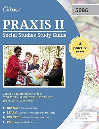 praxis ii social studies study guide content and interpretation rh amazon com Praxis II Test 5032 Praxis