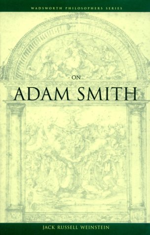 Download On Adam Smith: 1st (First) Edition PDF