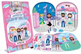: Fashion Angels Magnetic Dress Up Doll Sets- London