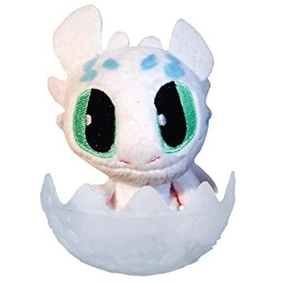 "Lightfury with Blue Spots How to Train Your Dragon The Hidden World Plush Figure 3"" Factory Sealed: Toys & Games"