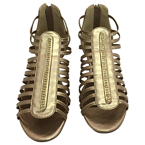 Andrea Conti Sandalette / Gladiator bronze