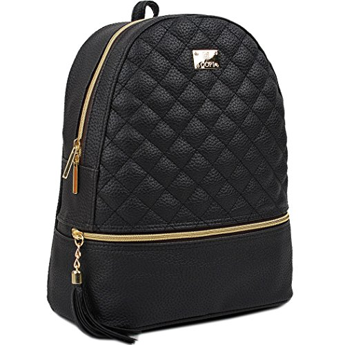 Quilted Mini Backpack - 2