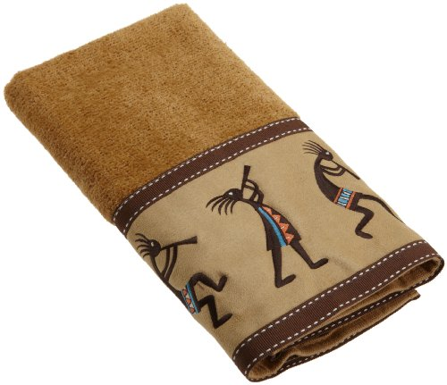 "Avanti ""Kokopelli"" Hand Towel, 16"" x 28"" Bedding"