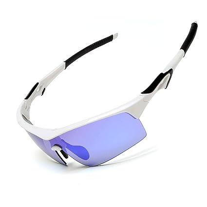 Gafas sol Deportivas al Aire Libre de la protección Ultravioleta Gafas polarizadas a Prueba de Viento