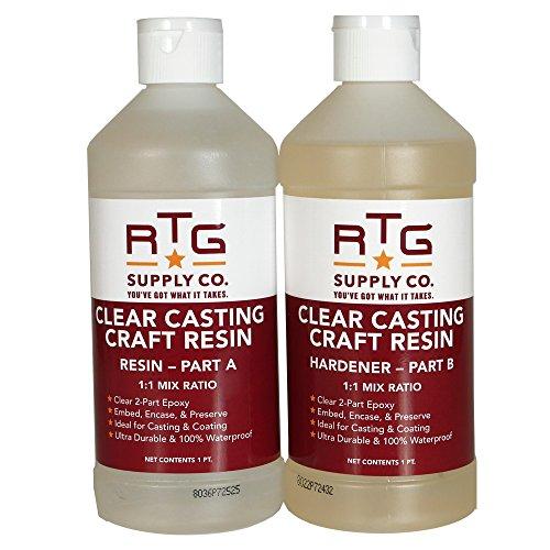 RTG Clear Casting Craft Resin (2-Pint Kit)