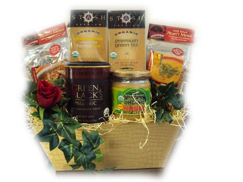 Healthy Valentine's Day Gift - Warm and Fuzzy by Well Baskets by Well Baskets