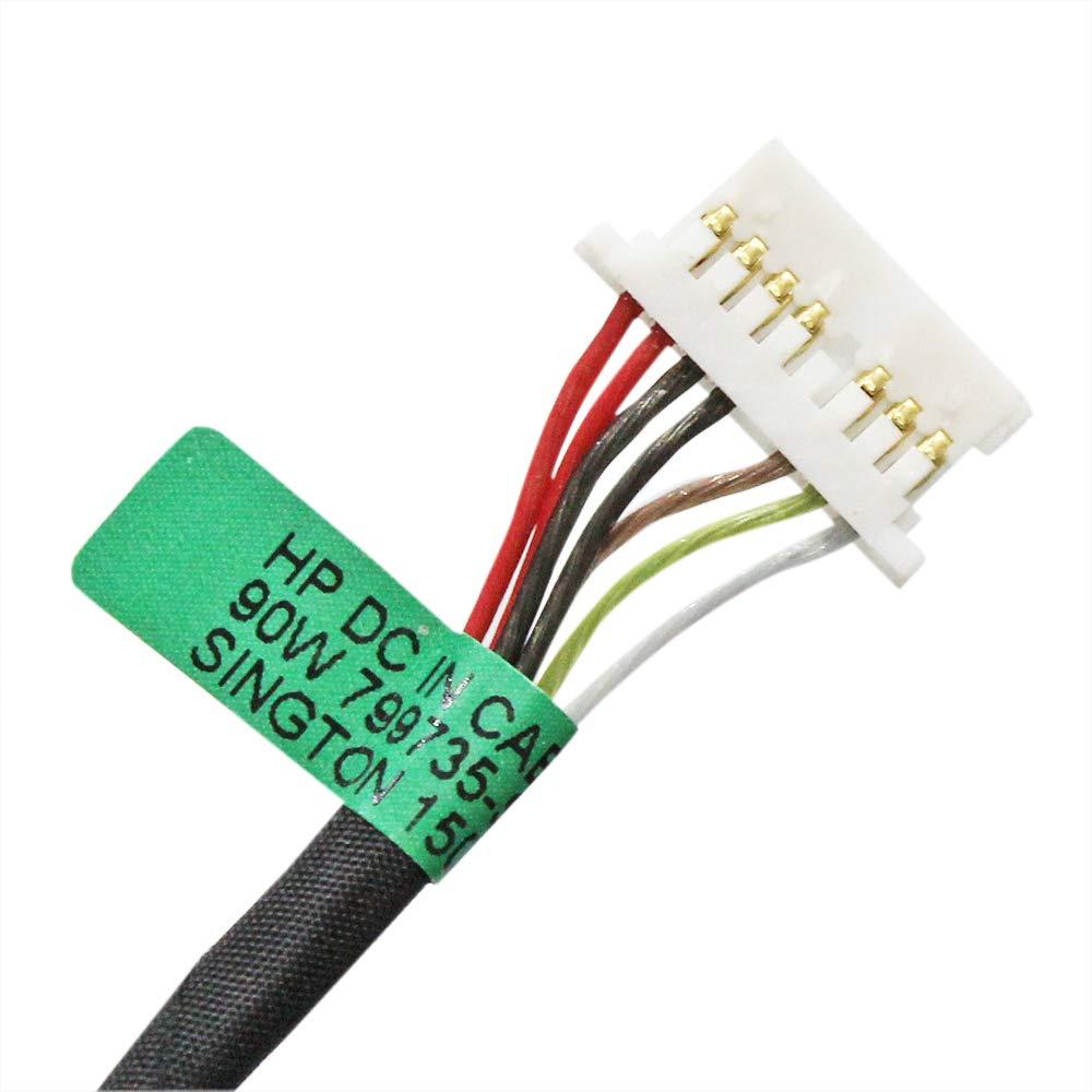 DC Power Jack para HP Envy X360 15-aq267cl 15-aq273cl 15-aq2