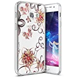 kitchen appliance packages black friday 2017 Galaxy A3 2017 Case,PHEZEN Bling Glitter Sparkle TPU Case with Gold Flower Butterfly Clear Design Transparent Slim Case Soft Silicone TPU Bumper Case Cover for Samsung Galaxy A3 2017