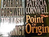 Patricia Cornwell 2 Book Set { THE LAST PRECINCT == POINT OF ORIGIN } (hardcover) First Edition