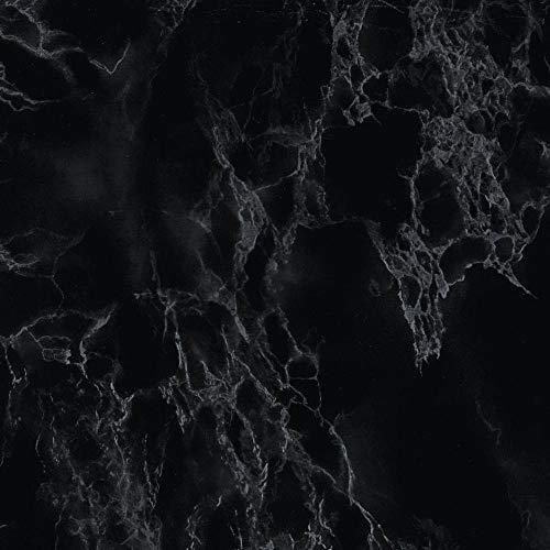 d-c-fix 346-0048-2PK Decorative Self-Adhesive Film, Marble Black, 17