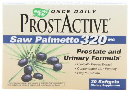 UPC 033674069622, Nature's Way Prost Active (Saw Palmetto), 30 Softgels