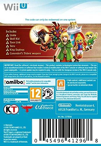 Hyrule Warriors: Legends Character Pack DLC [Wii U Download Code