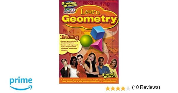Counting Number worksheets geometry worksheets year 9 : Amazon.com: The Standard Deviants - Learn Geometry: Standard ...