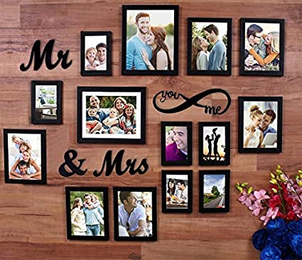 11a4b3bceb6e Buy Art Street MDF Plaque You Me Infinity -Mr and Mrs Individual Wall Photo  Frame for Couples (6-6X8