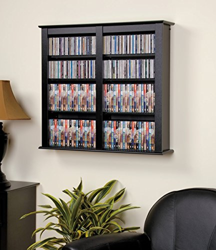 Multimedia Storage Rack Wall Unit - 9