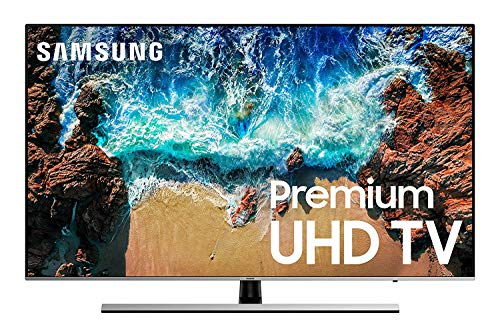 Samsung UN75NU800DFXZA Flat 75″ 4K UHD 8 Series Smart LED TV (2018) (Renewed)