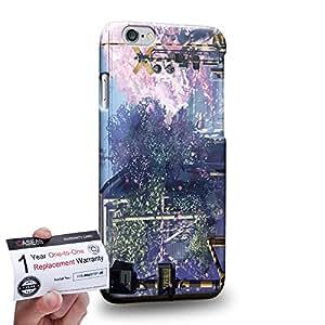 "Case88 [Apple iPhone 6 / 6s (4.7"")] 3D impresa Carcasa/Funda dura para & Tarjeta de garantía - 5 Centimeters Per Second 3132"