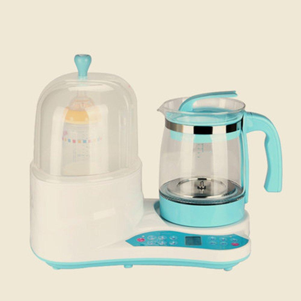 QFFL Máquina de Espuma Multifuncional termostato regulador de Leche Botella desinfección de Leche Dispositivo de Leche Caliente Bomba de Mano: Amazon.es: ...
