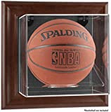 Brown Framed Wall Basketball Display Case - Fanatics Authentic Certified - NBA Basketball Display Cases