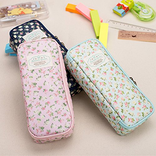 Stationery vintage large capacity brief denim canvas pencil case pencil box /pencil case for pencils school