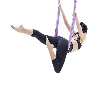 Amazon.com : LML Aerial Yoga Swing with Stand ,Aerial Yoga ...