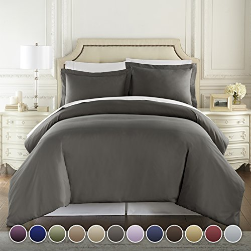 HC COLLECTION - 1500 Thread Count Egyptian Quality Duvet Cov