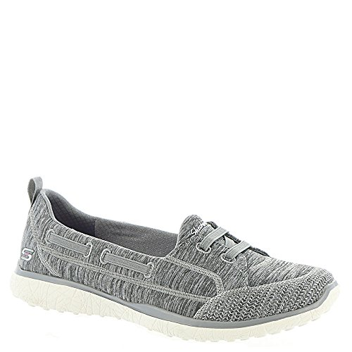 Skechers Active Microburst-Topnotch Women's Slip On 9.5 C/D US Grey