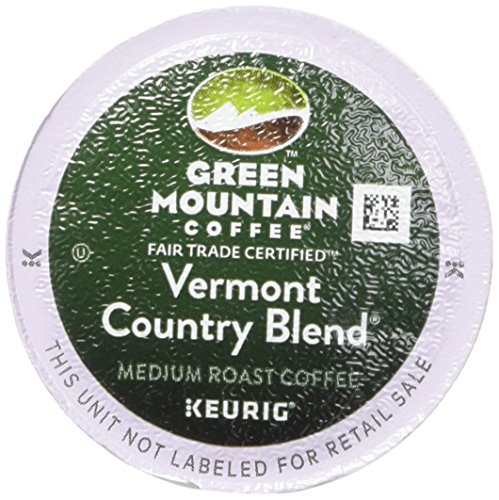 Green Mountain Coffee, Vermont Country Blend, K-Cup Portion Pack for Keurig Brewers 24-Count (Packaging May Vary)