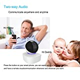 1080P Wifi Security Camera, Indoor Dome Surveillance Cams PTZ Wireless IP camera, Remote Home Monitoring Systems, Two Way Audio, Night Vision for Baby/Pet/Doggie/Cat/Nanny Monitor with ios Android App