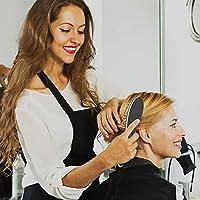MadameParis - Cepillo eléctrico profesional para alisar el cabello, Negro: Amazon.es: Salud y cuidado personal