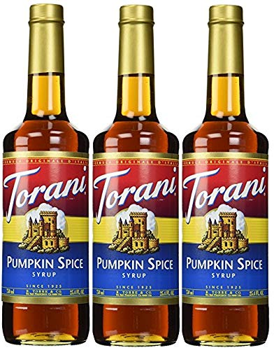 - Torani Pumpkin Spice Syrup (Pack of 3)