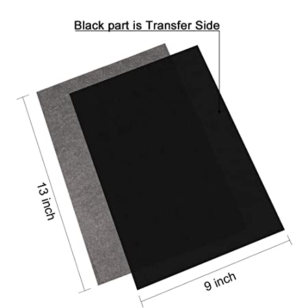 graphite carbon transfer paper nexlook 50 sheets 9 x 13 tracing