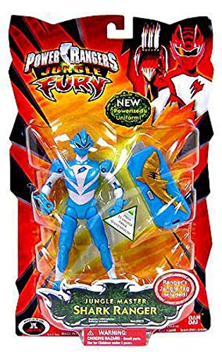 Power Rangers Jungle Fury Action Figure Jungle Master Shark Ranger