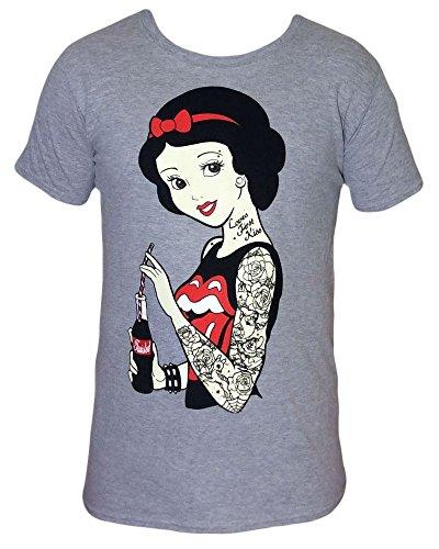 05dd44d5f7 Punk Disney Rockabilly Snow White T Shirt tattoo gothic emo pinup scene   Amazon.co.uk  Clothing