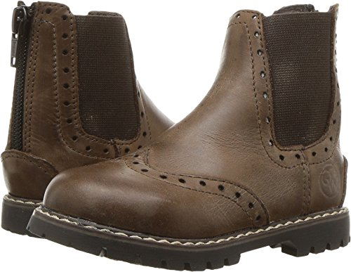 Old West English Kids Boots Unisex Bloom (Toddler/Little Kid) Chocolate Barnwood 5 M US Toddler ()