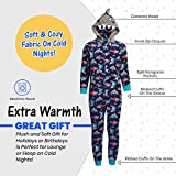 Only Boys' Footless Micro Fleece Onesie Pajamas
