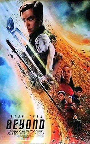 Star Trek ~ Beyond 2016 ~ Original Double-sided Regal Cinema Special Ed Poster