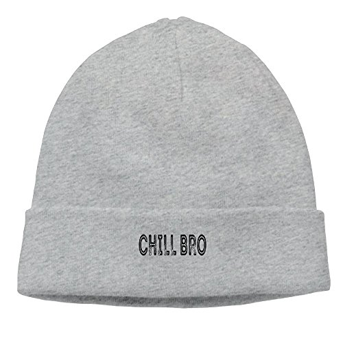 CHAO STAR Chill Bro New Winter Hats Knitted Twist Cap Thick Beanie Hat - Bro Chill Hats