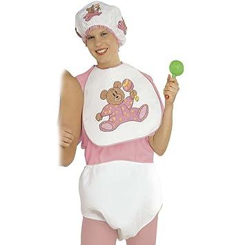 Net Toys Madchen Baby Kostum Fur Erwachsene In Rosa Babykostum