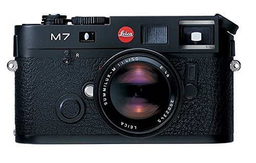 0.72 Viewfinder (Leica M7 0.72 35mm Rangefinder Camera body black with 0.72 viewfinder magnification u.s.a. #10503)