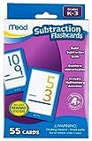 Mead Subtraction Flashcards, 55 Cards, Grades K-3 (63040)