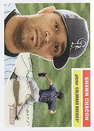 6577af3de4829 Amazon.com: 2005 Topps Heritage #209 Shawn Chacon - NM-MT ...