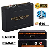 HDMI Audio Extractor with 3.5mm Stereo Audio Output Support HD 1080P 3D, Bluesky 5.1 CH Audio Extractor Converter Splitter With HDMI To HDMI and Optical TOSLINK SPDIF and L/R Audio
